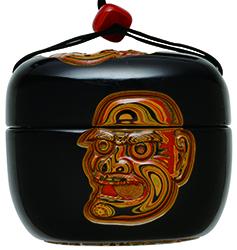 グリ彫り とんこつと煙管入れ guribori tonkotsu kiseruire